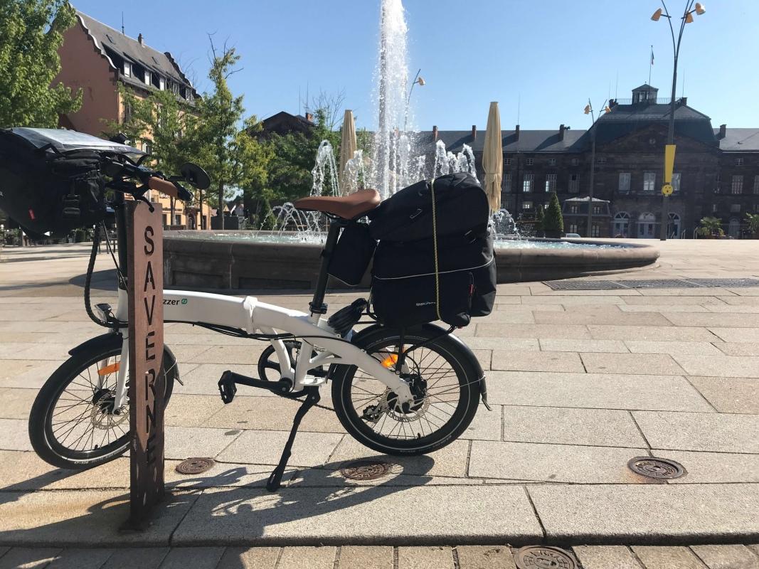 Start zum 2. Tag der e-bike Tour